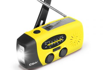 best hand crank flashlight featured image